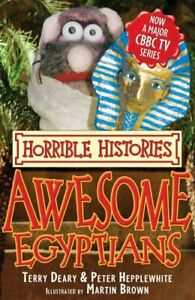 Awesome-Egyptians-Horrible-Histories-TV-Tie-in-Deary-Terry-Used-Good-Book