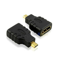 Micro Hdmi Male To Hdmi Female Adapter Connector For Cellphone Tablet Tv