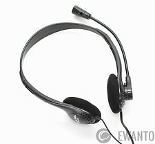 LogiLink Stereo Headset - Kopfhörer mit Mikrofon Headphones - HS0002