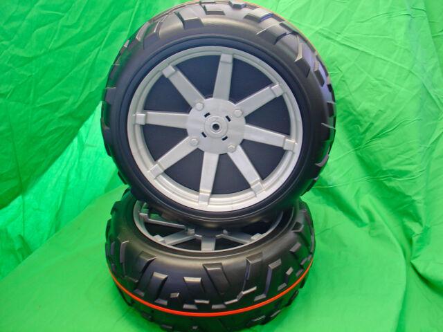Peg Perego Polaris Ranger RZR Front Wheel (Tire) Set (2 Tires)
