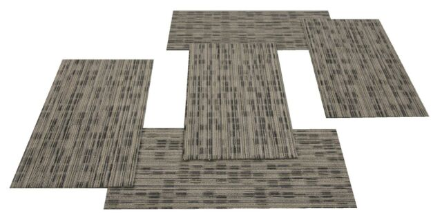 "SHAW Chevron Neocon 1B Carpet Tiles 18"" x 36"""