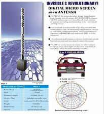 Stick-on Hidden AM/FM Automobile Radio Stereo Antenna