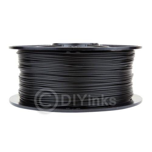 Black ABS 3.0mm WYZworks 3D Printer Premium Filament 1kg/2.2lb