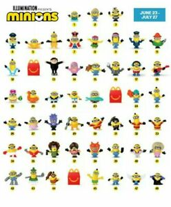 2020-McDONALD-039-S-Minions-Rise-of-Gru-Dreamworks-HAPPY-MEAL-TOYS-Choose-Toy-or-Set