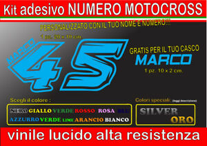kit-2-adesivi-NOME-E-NUMERO-MOTOCROSS-GARA-cupolino-corsa-casco-moto-auto