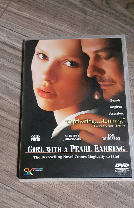 Girl with a pearl earring dvd