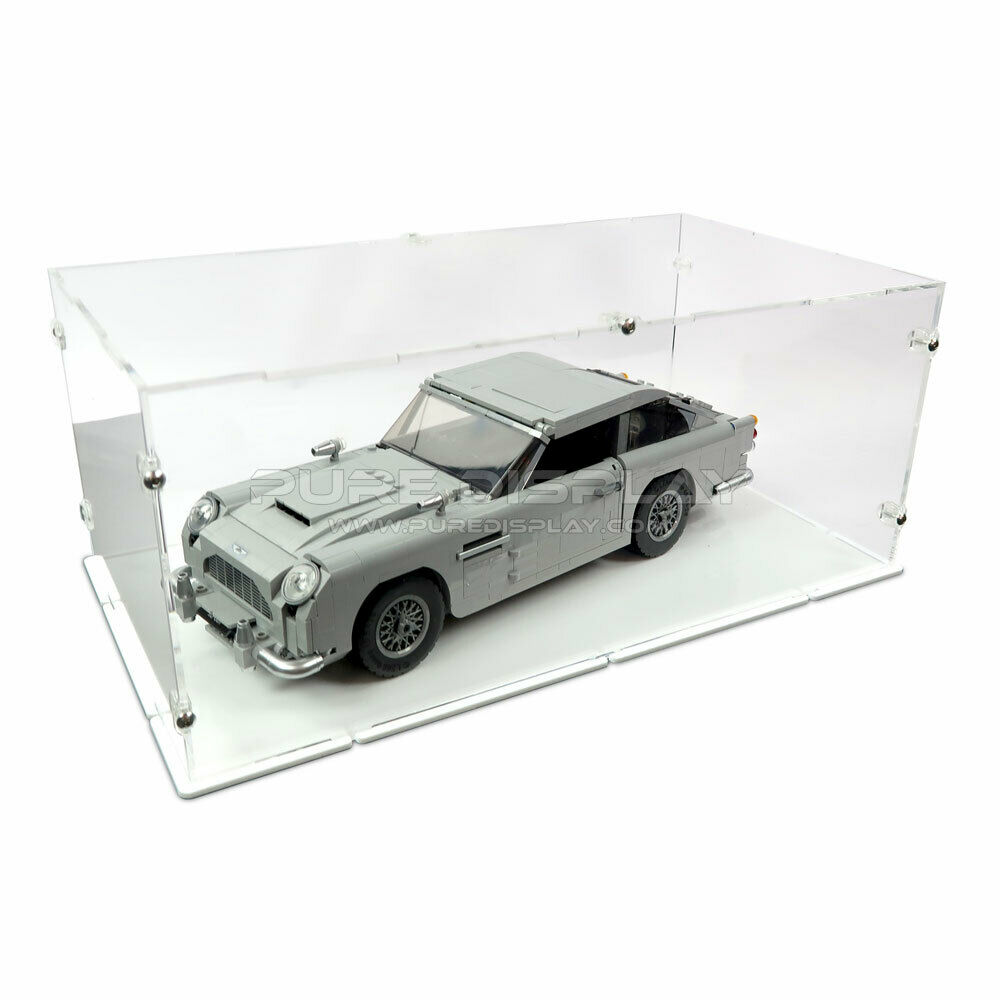 Acrylic Perspex Model Display Case For LEGO 10262 James Bond Aston Martin DB5