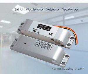 DC12V Fail-Safe Drop Bolt Lock for Access Control Use 1800lbs 5 Lines E-Lock TOP