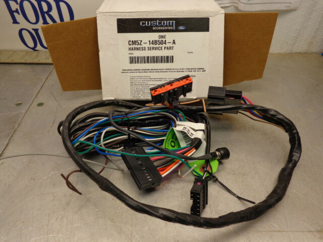 ford focus wiring harness ebay example electrical wiring diagram \u2022 7 pin trailer connector wiring diagram ford oem nos cm5z 14b504 a wiring harness service remote start c max rh ebay com ignition switch wiring diagram ford wiring harness connectors