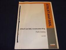 Case 570lxt 580l Construction King Backhoe Loader Parts Manual Book 8 9940