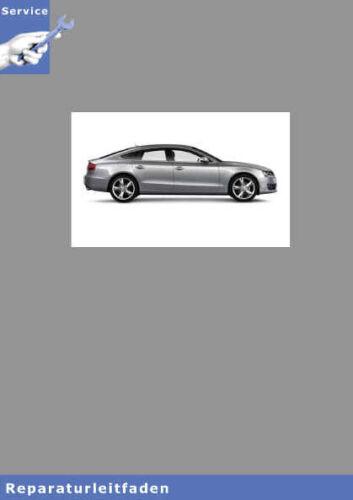 Audi A5 8T Benziner Einspritz /& Zündanlage // 91 Seiten Reparaturanleitung 4,2l
