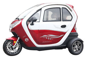 tol elektro leichtkraftfahrzeug scooter elektroauto kabinenroller 45 km h ebay. Black Bedroom Furniture Sets. Home Design Ideas