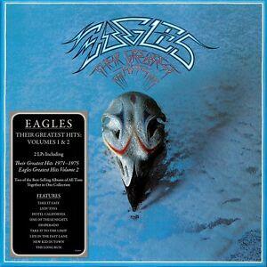 EAGLES-THEIR-GREATEST-HITS-VOLUMES-1-amp-2-2-VINYL-LP-NEU