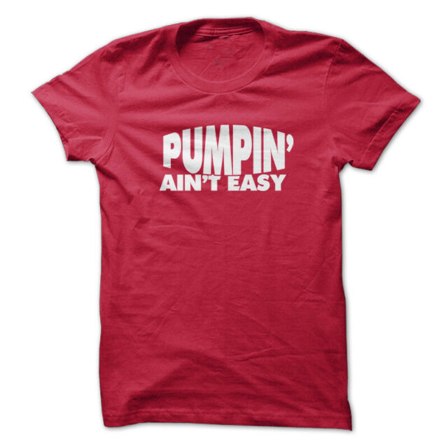 PUMPIN/' AIN/'T EASY Gym Rabbit T-Shirt Workout BodyBuilding Weightlifting MMA 795