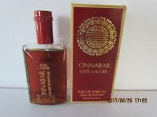 Vintage Estee Lauder Cinnabar 2 oz Eau De Parfum Perfume Splash  FULL - RARE!