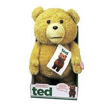TED - Plüschfigur mit beweglichem Mund sprechend ca 40cm - mit Song Rarität NEU