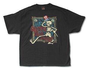 Grateful-Dead-Shakedown-Street-Mens-Black-T-Shirt-New-Official