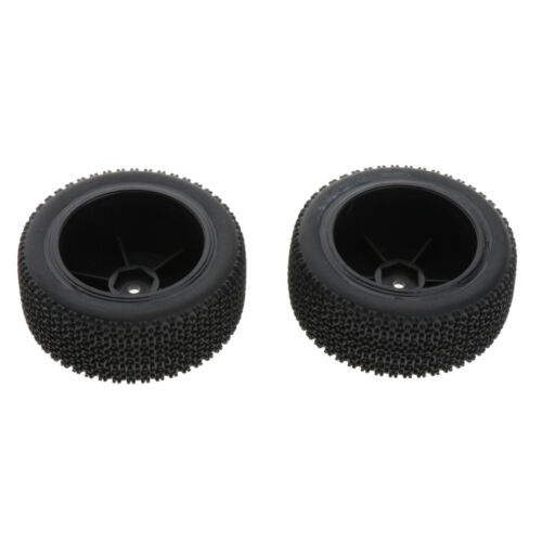 4pcs Rubber Tire Tyre for 1//14 Wltoys 144001 RC Buggy Racing Car Parts