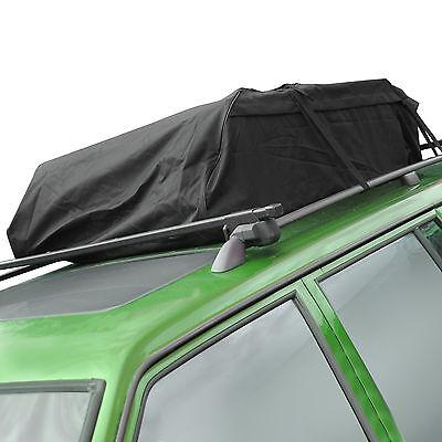 458l UNIVERSAL ROOF BAG AERO WATER RESISTANT LUGGAGE CAR STORAGE TRAVEL TOP BOX