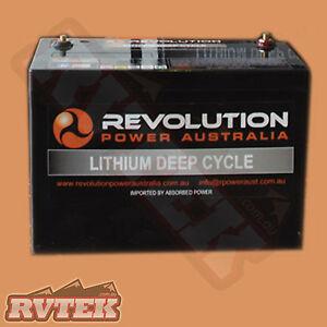 Revolution 12v 100ah Lithium Ion Lifepo4 Deep Cycle