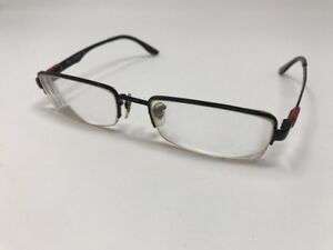 5595d60d260 Authentic Ray Ban RB 6158 2509 Black Red 53mm Half Rim Frames ...