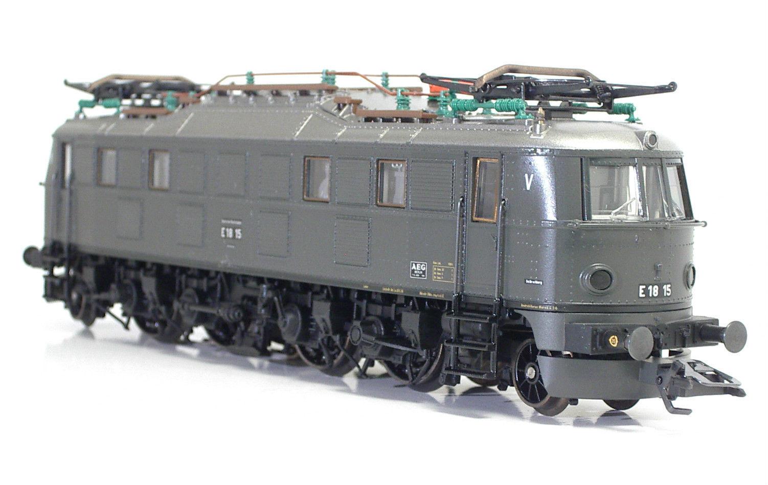 MÄRKLIN 33681 Elektrolokomotive E18 15 grigio DRG Ep II