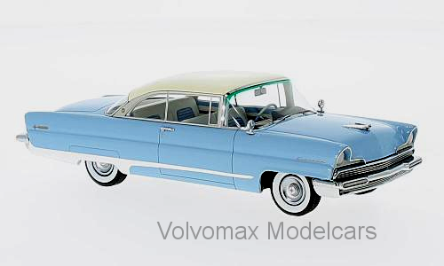 Tolle neo - modelcar lincoln premiere ht coupe 1956 - 1   43 - lightBlau   Weiß