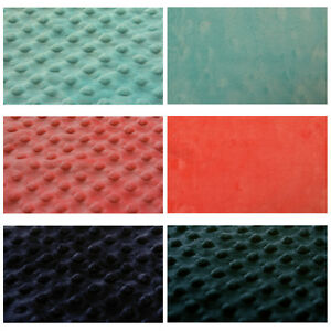 DIMPLE-DOT-POPCORN-CUDDLE-SOFT-MINKY-FLEECE-BLANKET-FABRIC-152cm-60-034-W-BY-YARD