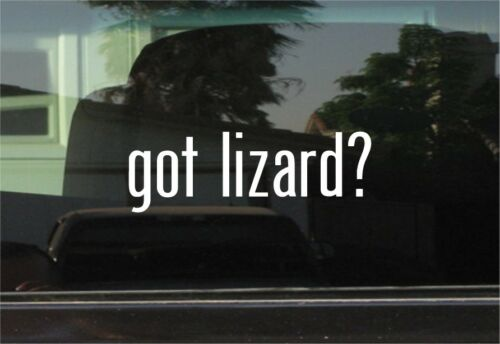 GOT LIZARD STICKER VINYL DECAL