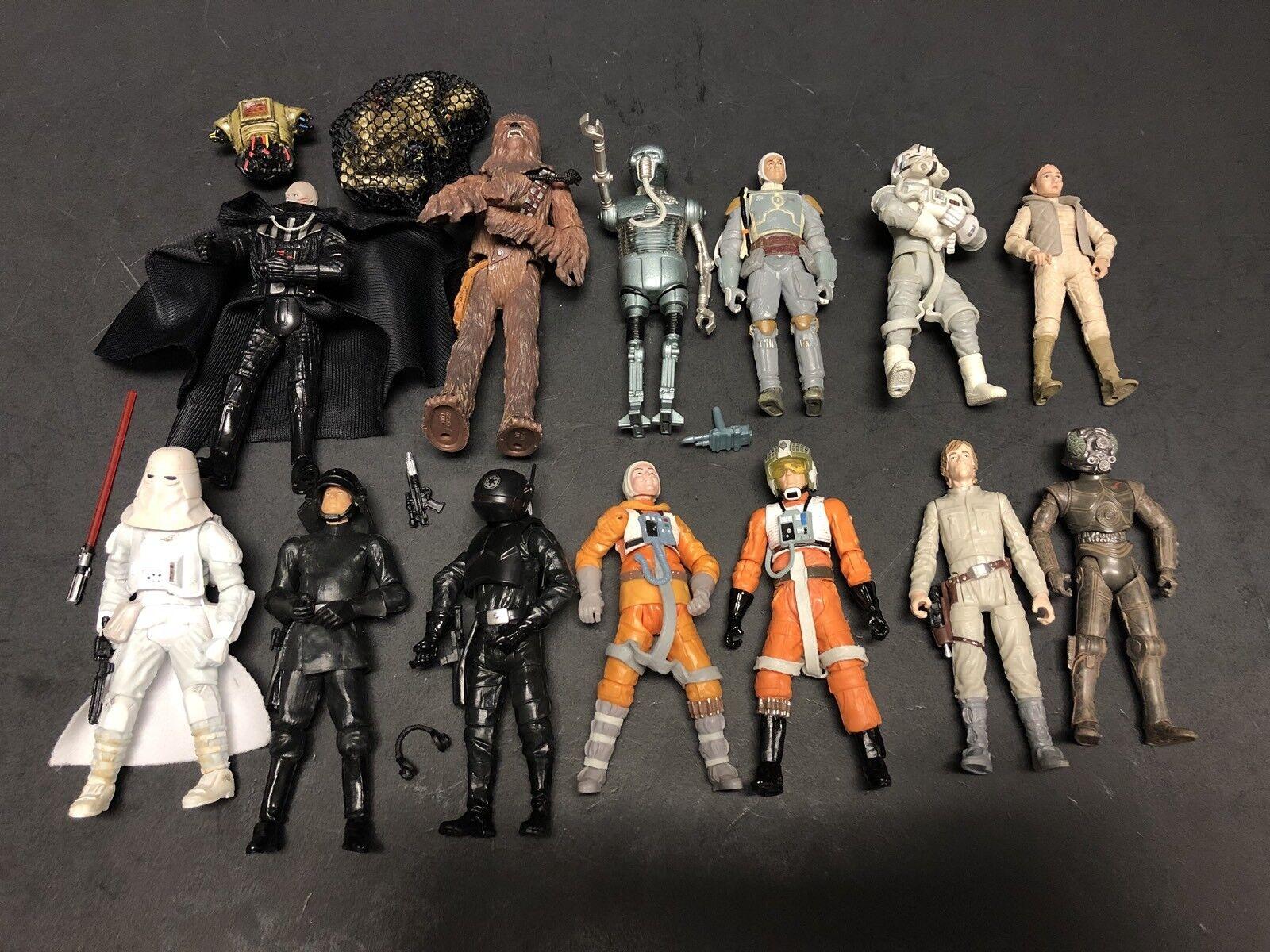 13 Of Lot Chewbacca Luke Pilot Vader ESB Wars Star 3 75