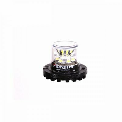 6 inch 2006 Sterling AAT 9500 SERIES Post Mount Spotlight 100W Halogen Driver Side with Install Kit -Black