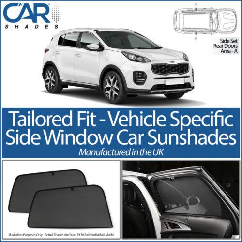 Kia Sportage 5dr 2016/> CAR SHADES UK TAILORED UV SIDE WINDOW SUN BLINDS BABY PET