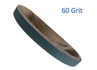 10 x 330mm Zirconium Sanding Belts Packs of 10 60 Grit