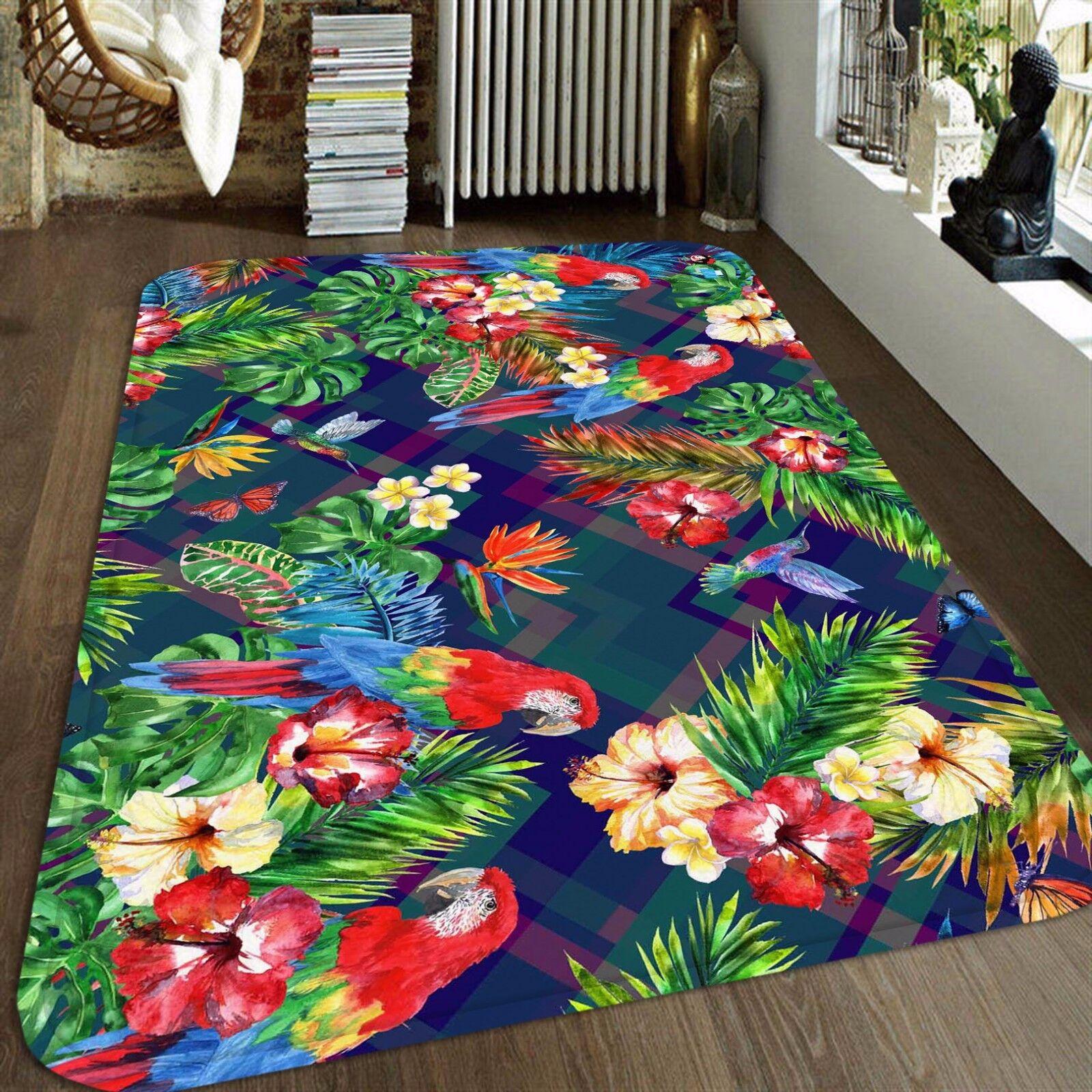 3D Squid Parrot 50 Non Slip Rug Mat Mat Mat Room Mat Quality Elegant Photo Carpet US 71a371