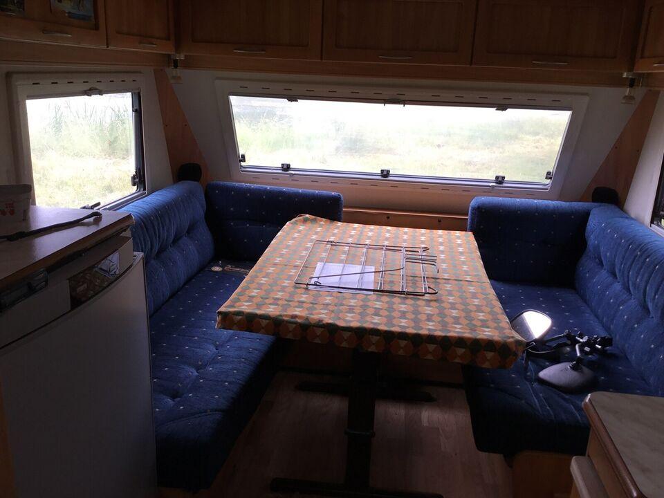 Campingvogn  med gulvvarme og solceller