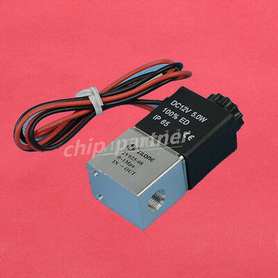 """DC 12V 1/8"""" Electric Solenoid Valve For Air Gas Water Normally Closed N/C"""
