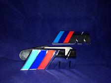 Griglia frontale + posteriore avvio Badge BMW M SPORT si adatta a tutti. finitura cromata, buona qualità