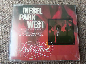 Diesel-Park-West-Fall-to-Love-CD-Single-4-Track-1991-Original