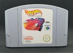 Hot Wheels Turbo Racing - Nintendo 64 N64 🎮 PAL - Very Good Condition!