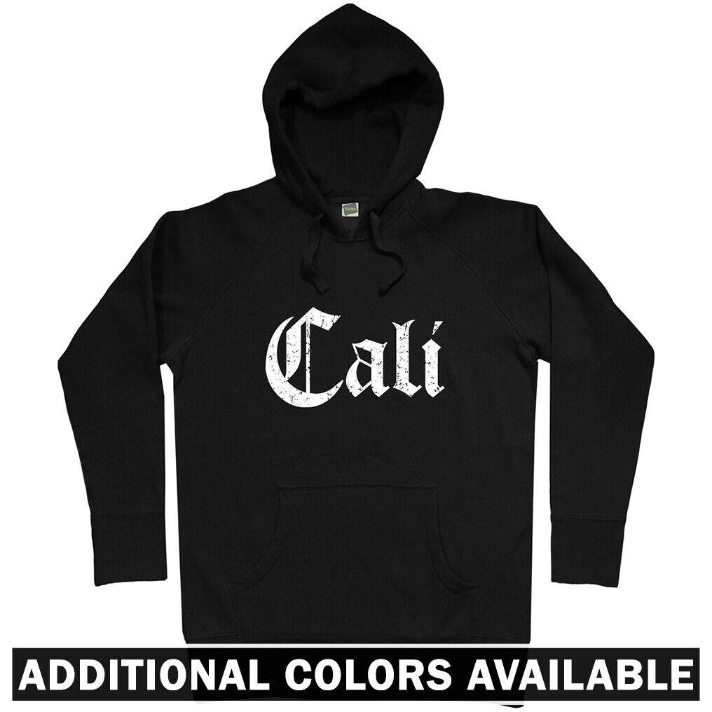 Cali Gothic Hoodie - Hoody Men S-3XL - Gift Los Angeles San Francisco Diego Jose
