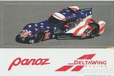 2016 DeltaWing DWC-13 Elan P Rolex 24 IMSA WTSC Panoz Decal Sticker Sheet