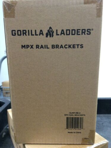 Gorilla Ladders GLMP-RB-2 MPX Aluminum Rail Brackets