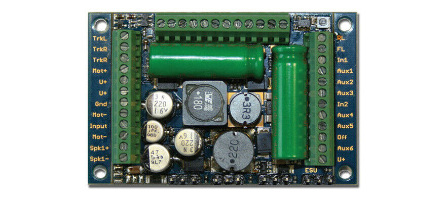 Esu 58513 2 Pezzi Suono 5 XL DCC   mm   SX   M4 Leerdecoder Nem Nuovo Conf.