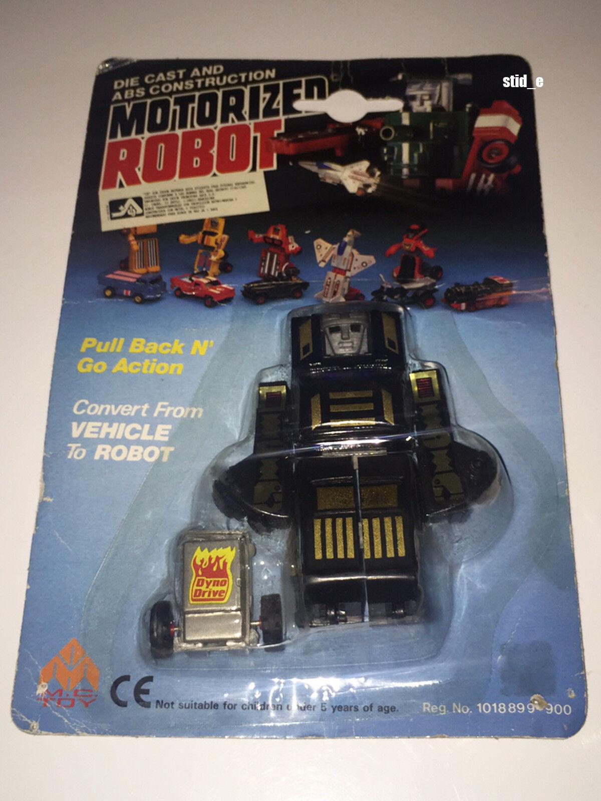 MOTORIZED ROBOT   RANGER   MC TOY '80   NEW MOC   DynaBot MotoBot Transformers
