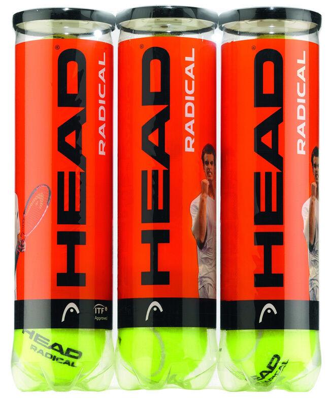 Head Head Head Radical tri tennis formation Balles Douzaine c1112e