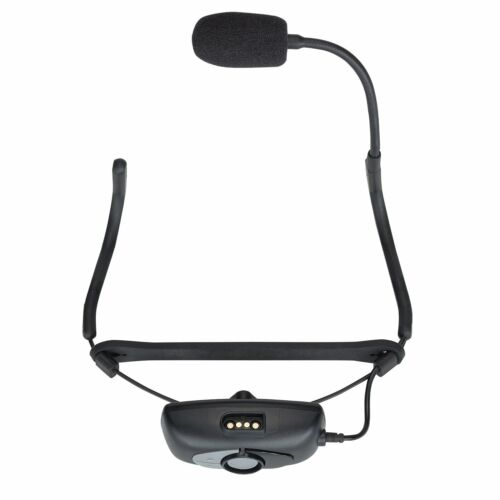 Samson AirLine 99M AH9 Wireless Rechargeable Headset System-D Band DE10 Mic