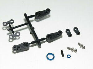 90023 ASSOCIATED RC10 B6.2 TEAM BUGGY STEERING LINKAGE WITH SERVO HORNS