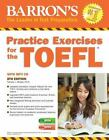 Practice Exercises for the TOEFL with MP3 CD, 8th Edition by Pamela J. Sharpe (2015, Paperback, Revised)