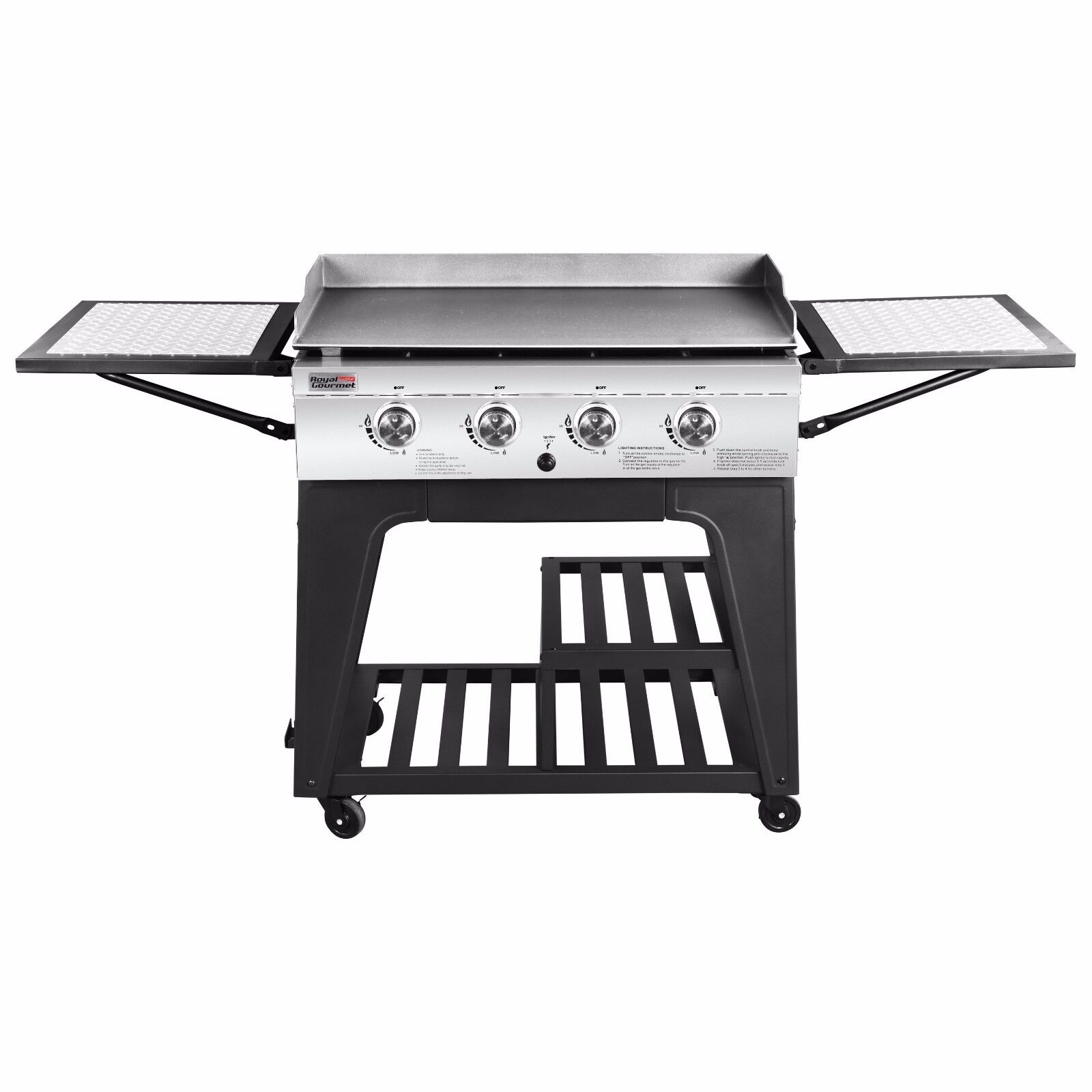 royal gourmet regal backyard 4 burner 52 000 btu propane gas
