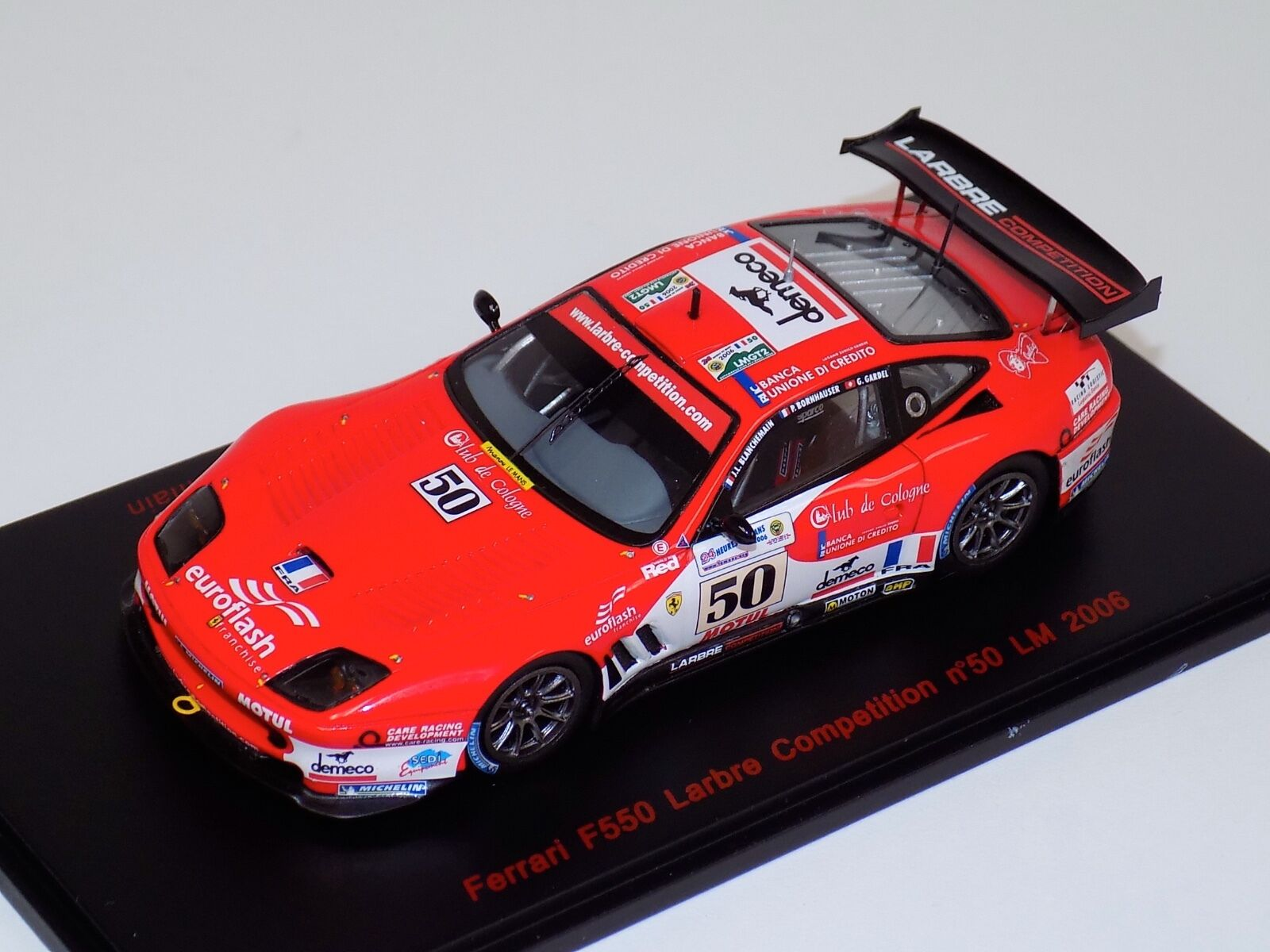 1 43 Red Line Ferrari F550 F550 F550 Larbre Competition Car from 2006 24H of LeMans 4ea284